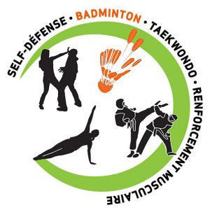 badminton logo sptr - sports pour tous roquettois