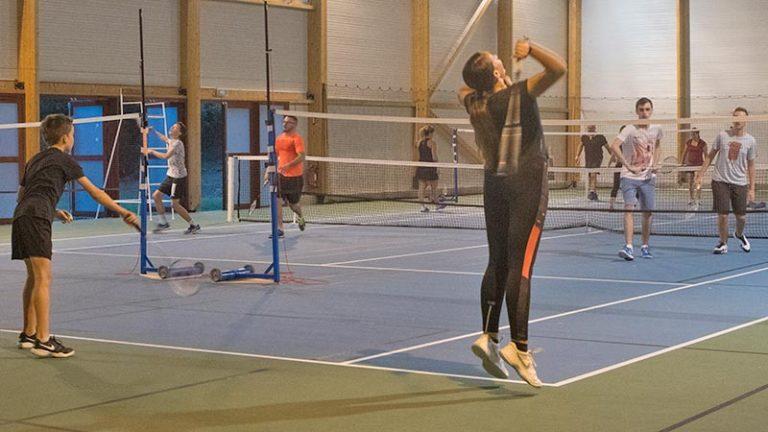 badminton ados loisir avec SPTR, à Roquettes