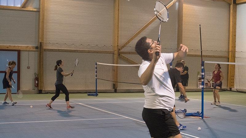 badminton adultes loisir avec SPTR, à Roquettes