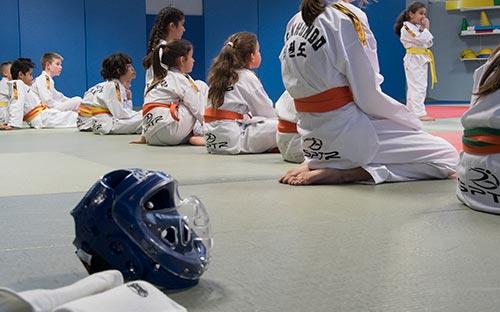 taekwondo cours enfant ados loisir par SPTR