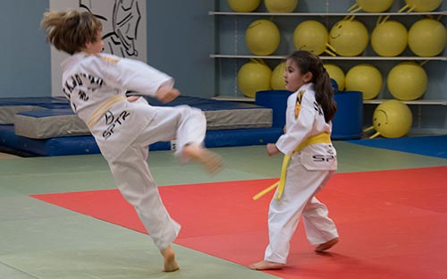 taekwondo cours enfant loisir par SPTR